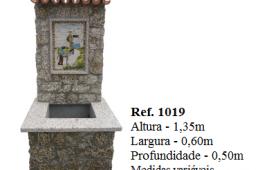 Fontaine murale rectangulaire